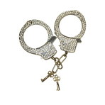 Party Posse Diamante Handcuffs   - 6 PKG