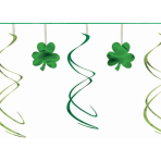 Shamrock Swirl Garlands 3.65m - 6 PC