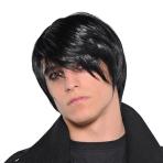 Adults Gothic Pop Punk Wigs - 3 PC