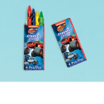 Blaze Crayons - 6 PKG/12