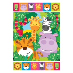 Jungle Friends Loot Bags - 12 PKG/8