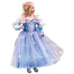 Princess Fleur Costume - Age 9-11 Years - 1 PC