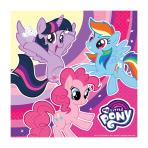 My Little Pony Luncheon Napkins 33cm - 10 PKG/20