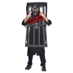 Caged Reaper Costume - Age 10-12 Years - 1 PC