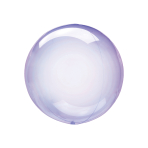 "Crystal Clearz Petite Purple Packaged Balloons 12""/30cm S15 - 5 PC"