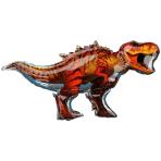 "Jurassic World SuperShape Foil Balloons 45""/114cm w x 24""/60cm h P38 - 5 PC"