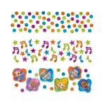 Bubble Guppies Confetti Packs 34g - 12 PKG