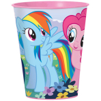 My Little Pony Plastic Favour Cups 473ml - 12 PC