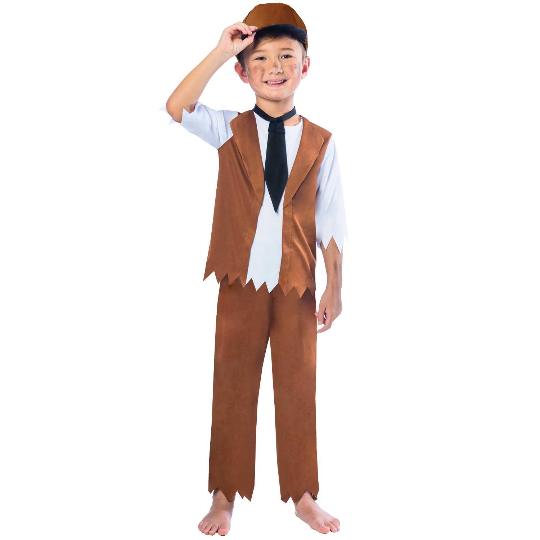 Victorian Boy Costume Age 5-6 Years
