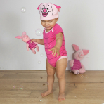 Disney Winnie the Pooh Piglet Bodysuit & Hat - Age 18-24 Months - 1 PC
