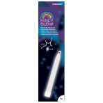 Fancy Glow White Stick Necklaces 15cm - 6 PC