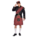 Scottish Man Costume - Size M - 1 PC