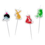 Animals Mini-Figurene Candles - 5 PKG/4