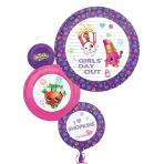 """Shopkins SuperShape Foil Balloons 22""""/55cm w x 28""""/71cm h P38 - 5 PC"""