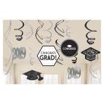 2019 Graduate Swirl Decorations - 9 PKG/12