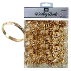 Gold Wedding Band Table Sprinkles - 6 PC