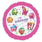 Shopkins Standard Foil Balloons S60 - 5 PC