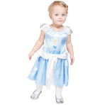 Cinderella Princess Dress with Printed Character - Age 2-3 Years - 1 PC