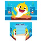 Baby Shark Invitations - 6 PKG/8