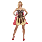 Adults Warrior Princess Costume - Size 8-10 - 1 PC
