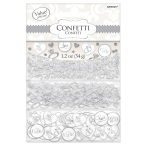 White I Do Confetti Value - 12 PKG/3