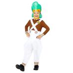 Oompa Loompa Costume - Age 10-12 Years - 1 PC