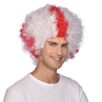 St George's Cross Afro Wigs - 6 PC