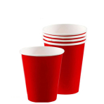 Apple Red Paper Cups 266ml - 12 PKG/8