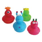 Alien Rubber Ducks - 6 PKG/4