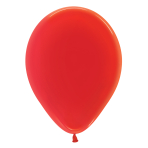 "Crystal Solid Red 315 Latex Balloons 5""/13cm - 100 PC"