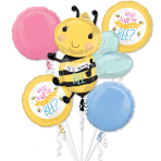 What Will It Bee Foil Balloon Bouquets P75 - 3 PC
