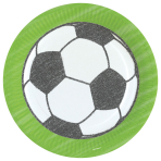Kicker Party Paper Plates 23cm - 10 PKG/8
