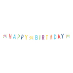 Confetti Birthday 70th Birthday Letter Banners 1.8m - 10 PC