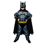Batman Sustainable Costume - Age 4-6 Years - 1 PC