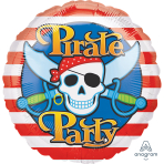 Pirates Party Standards Foil Balloons S40 - 5 PC