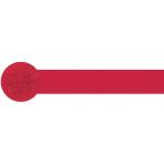 Apple Red Crepe Streamers 4.4.cm x 24.7m - 12 PKG