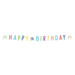 Confetti Birthday 18th Birthday Letter Banners 1.8m - 10 PC