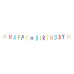 Confetti Birthday 18th Birthday Letter Banners 1.8m - 10 PC