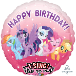 My Little Pony Sing-a-Tune Foil Balloons P75 - 5 PC
