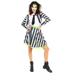 Beetlejuice Costume - Size 10-12 - 1 PC