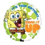 SpongeBob Birthday  Standard Foil Balloons  - S60 5 PC