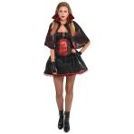 Dark Vamp Costume - Size 8-10 - 1 PC