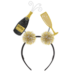 Champagne & Flute Headboppers - 12 PC