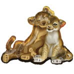 """Lion King SuperShape Foil Balloons 31""""/78cm w x 26""""/66cm h P38 - 5 PC"""