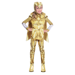 Wonder Woman Gold Hero Costume - Age10-12 Years - 1 PC