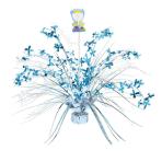 Blue Communion Spray Centrepieces - 6 PKG