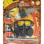 Fireman Accessories Set - Age 3-6 Years - 1 PC