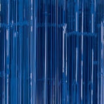 Bright Royal Blue Door Curtain 91cm x 2.43m - 6 PC