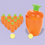 Easter Bowling Carrot Games - 12 PC