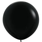 "Fashion Colour Solid Black 080 Latex Balloons 36""/91.5cm - 2 PC"